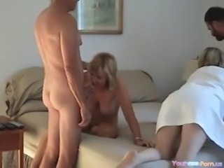 Homemade Swinger Foursome free