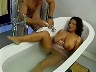 Beautiful mother with saggy tits