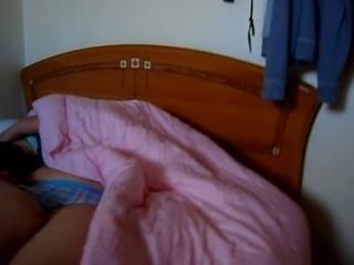 Sleeping girlfriend. Brother al ... free