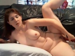 Brunette MILF Cam Girl