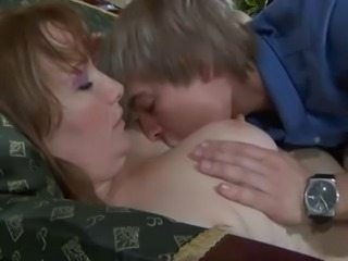Russian MILF,Granny,Mature and young boy # PornApocalypse