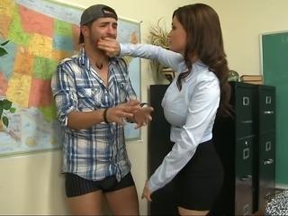 My teacher letting me fuck her