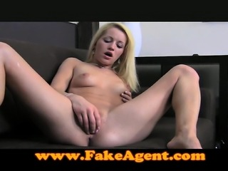 FakeAgent Amateur MILF wants anal