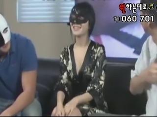 korean girl takes on 2 guys