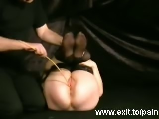 BDSM humiliation including a Fly Swatter