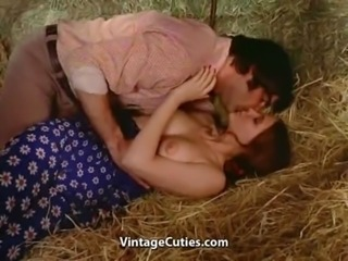Softcore Sex Right in the Barn free