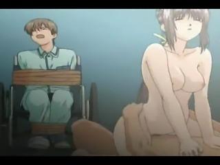 Naughty nurse recieve anal penetration
