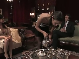 Busty business lady Isis Love is surprised to find out that her partner Steve...