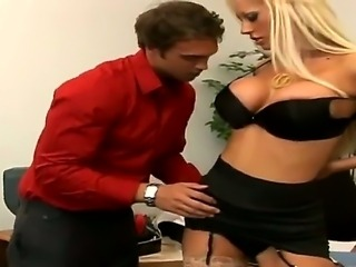 Rocco Reed doing wild things with glamourous smoking hot blonde babe Tanya James