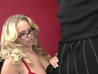Britney Young,Sean Michaels and Slut Bottom Chris in wild interracial threesome
