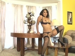 Anjanette Astoria was bored and she wants to fuck then she fucks her gigantic...