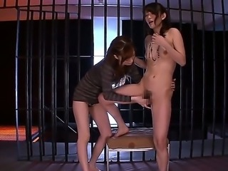 Kaede Fuyutsuki and her girfriend are pleasing eachothers desires in...