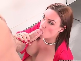 Stepmother Abby Cross seduces her handsome stepson Xander Corvus while his...