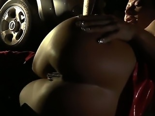Lea Lexis and Sandra Romain enjoy being plowed rough by two pussy hungry men