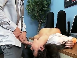 Hunk Johnny Sins enjoys deep fucking horny security guard Breanne Benson