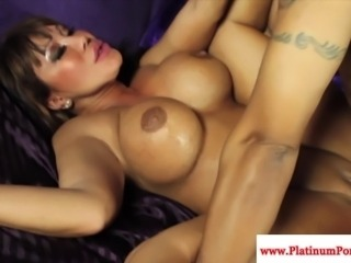 Ava Devine pounded by black cock and cant get enough