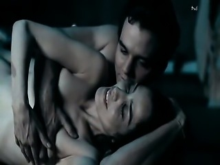 Leticia Sabatella naked in hot sex scene with some guy.