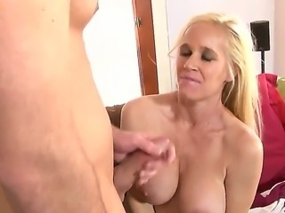 Blonde babe Totally Tabitha, is the mother in law every one wants. Hardcore...