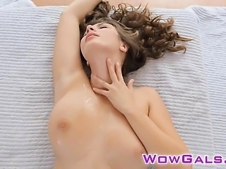 Busty Connie gets banged hard and cummed.