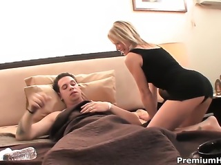 Jessie Fontana gets turned on then drilled by hot dude