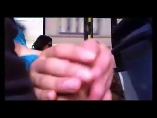 touch dick Stranger bus