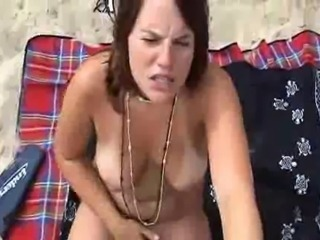 hot couple fucking on beach in france