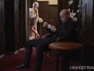 Mature Viktoria is at home while distracting her man in stripping She gets...