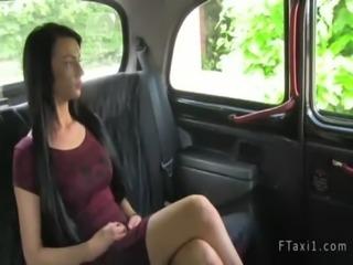Taxi driver fucks tattooed amateur free