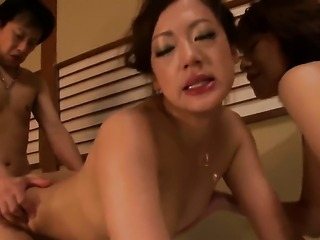Misaki Shiraishi takes unthinkable pop shot on her eager face