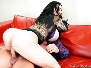 Johnny Castle plays hide the salamy with Amy Anderssen with phat butt and...