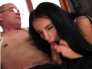 Grandpas and Hot Young Brunettes Compilation