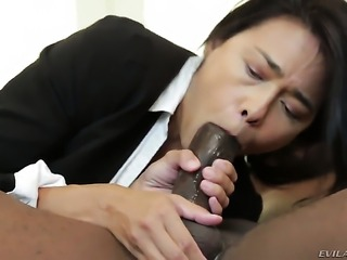 Dana Vespoli is on the way to anal orgasm with hot dude Prince Yahshua before...