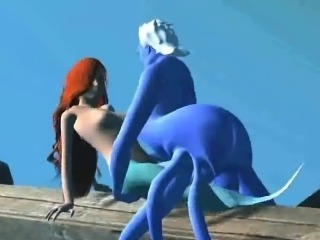 3D Ariel gets fucked hard by Ursula underwater