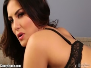 SunnyLeone Striptease on the couch free