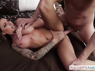 Juelz Ventura taking sex to the whole new level as she fucks with hot guy...