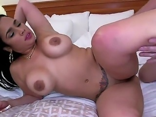 Doggy fuck with curvy big booty sexy Destiny