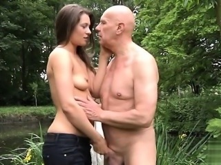 Italian mature throat gag