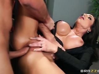 Keiran Lee uses his throbbing schlong to make Jaclyn Taylor with giant boobs...