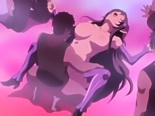 Crazy fantasy, drama anime video with uncensored group,