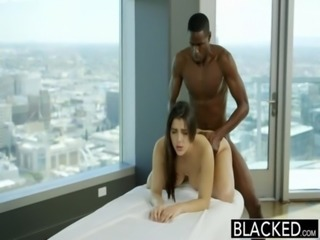 BLACKED Sexy Italian Babe Valentina Nappi Rimming Black Man With Passion free