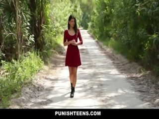 PunishTeens - Petite Teen Dominated and Fucked Hard free