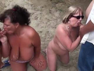 beach bukake