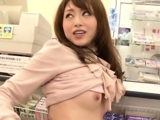 Excited japanese model wants cock inside her