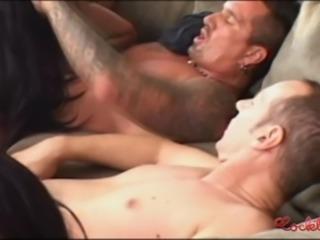 Hot Foursome With Horny Latina Chicks