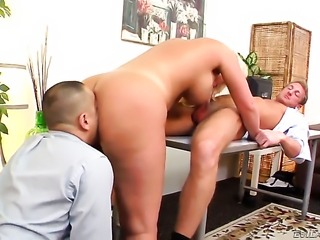 Julie Cash fulfills her sexual needs and desires with guys erect fuck stick...