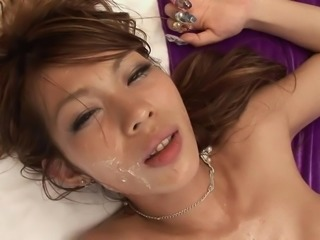 Busty beauty can handle sucking and fucking three guys