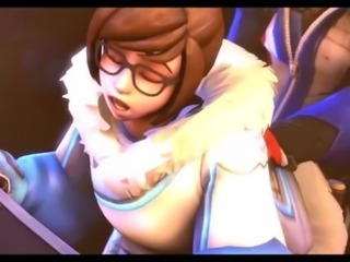 Mei in Overwatch have sex