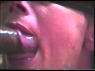 Blindfolded wife swallows black cum #4