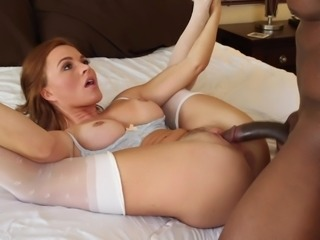 Cheating wife riding a black dong