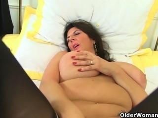 Britain's best mature big tits